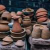 Единство творчества (лепка из глины)