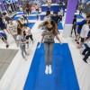 Прыжки на батутах в батутном центре Gravity