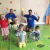 Детский большой теннис в детском саду Discovery Ходынка в Москве