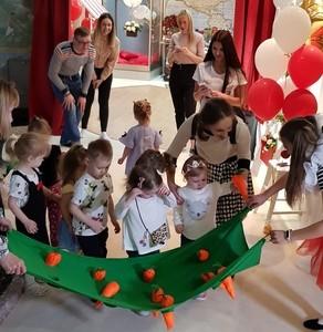 Территория детского праздника Carousel