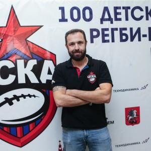 Детская секция регби ЦСКА в 760 школе им. А.П. Маресьева