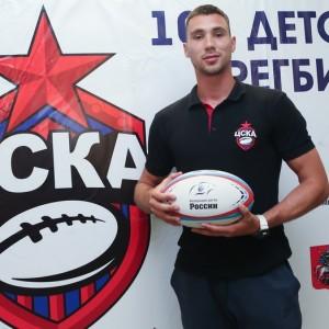 Детская секция регби ЦСКА в Школе «Интеграл»