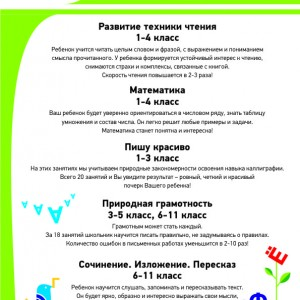 Математика (1-3 классы)