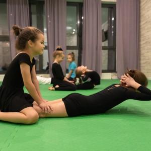 Подготовительная группа по гимнастике