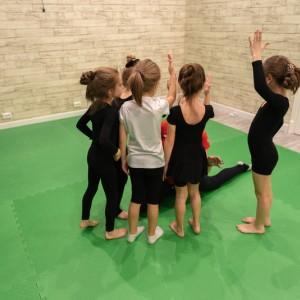 Предметная подготовка по художественной гимнастике