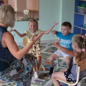Развивающие занятия для малышей «По дороге к знаниям»