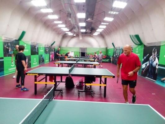 Настольный теннис 8 - 13 лет группа 2