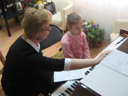 Вокально-инструментальный ансамбль  (фортепиано и вокал)