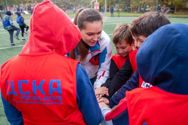 Детская секция регби ЦСКА Школа 1409