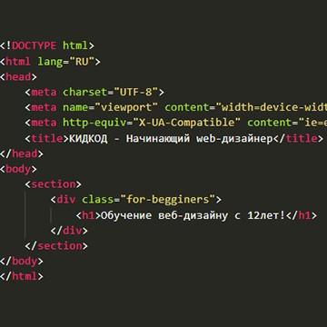 Начинающий web-дизайнер
