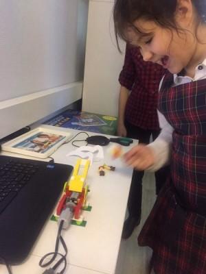 Lego Wedo 1 ступень