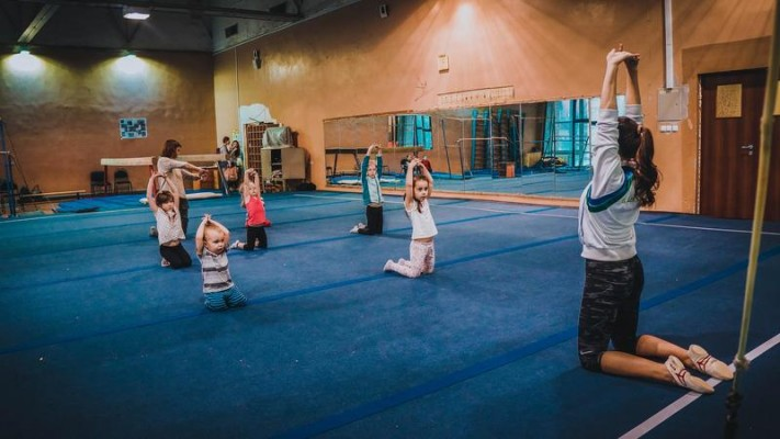 Гимнастика для малышей (на Каширском шоссе)