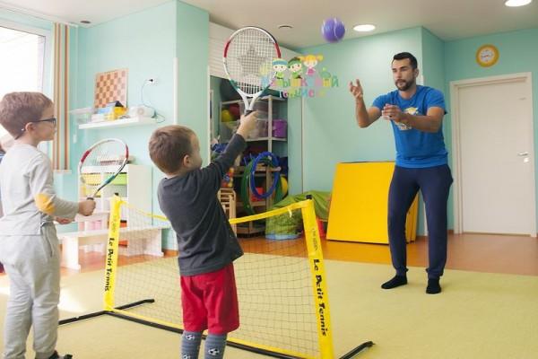 Детская школа большого тенниса (на ул. Авиационной)