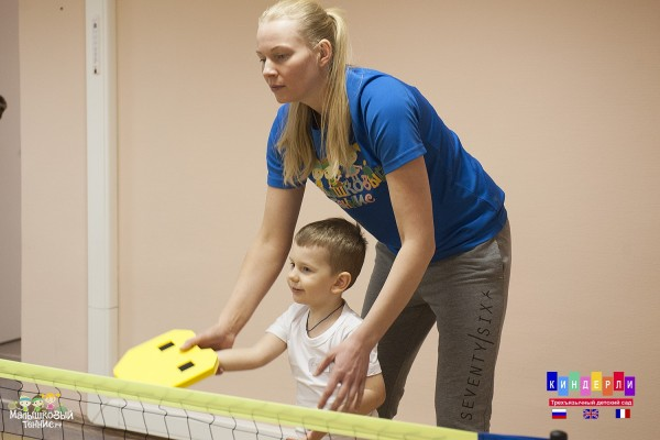 Занятия большим теннисом (на ул. Немчинова)